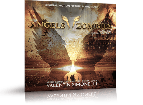 Couverture de la bande originale du film Angels Vs Zombies ©2018